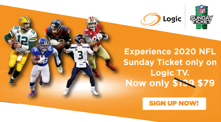 NFL Sunday Ticket Only On LogicTV