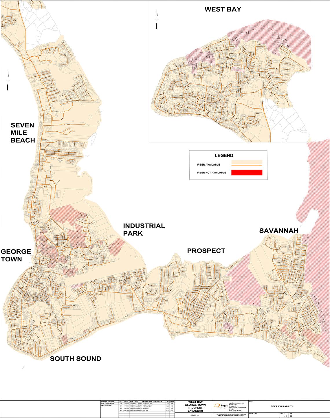 Fibre Coverage Map